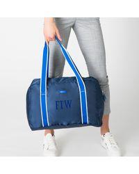 Paravel Fold-up Bag - Blue