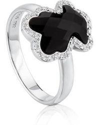 Tous - Gold Diamonds Ring - Lyst