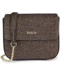 Tous - Small Bronze Rene Crossbody Bag - Lyst