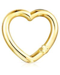Tous - Hold Gold Heart Ring - Lyst