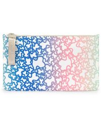 Tous Medium Multicolored/sand-colored Kaos Mini Sport Toiletry Bag