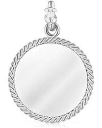 Tous Silver Minne Pendant - Metallic