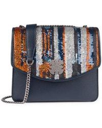 Tous - Small Multicolored Leather Liz Fun Sequins Crossbody Bag - Lyst