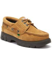 Kickers Lennon Mens Tan Boat Shoes - Brown