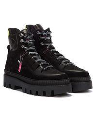 Tommy Hilfiger Tommy Jeans Hybrid Frauen Schwarze Stiefel