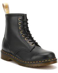 Dr. Martens Dr. Martens 1460 Felix Rub Off Vegan Black Boots