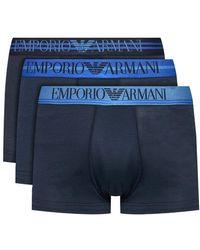 Emporio Armani Sous-vêtements Bleu Marine Pour