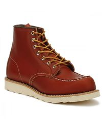 Red Wing Red Wing Oro Russet Portage 6-Inch Moc Toe Stiefel - Braun