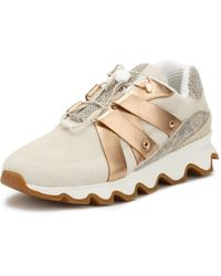 Sorel - Womens Natural Beige Kinetic Speed Trainers - Lyst