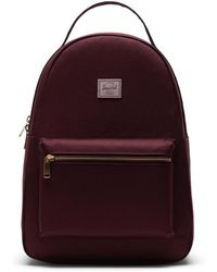 Herschel Supply Co. Nova Mid-volume Plum / Ash Rose Backpack - Purple