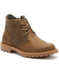 Barbour Pennine Mens Umber Brown Chukka Boots