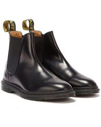 Dr. Martens Graeme Ii Polished Smooth Leather Chelsea Boots - Black