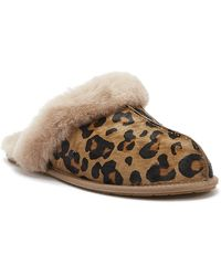 UGG Scuffette Ii Leopard Slippers - Brown
