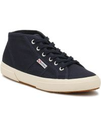 Superga Navy 2754 Cotu Trainers - Blue