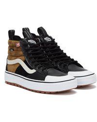 Vans SK8-Hi MTE 2.0 DX Schwarz / Weiss / Braun Sneakers