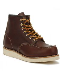 Red Wing Red Wing Briar Oil Slick 6-Inch Moc Toe Schnürstiefel - Braun