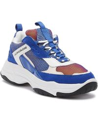 Calvin Klein Maya Womens Blue Sneakers