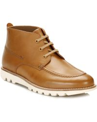 Kickers - Mens Tan Kymbo Mocc Boots - Lyst