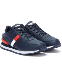 Tommy Hilfiger Tommy Jeans Lifestyle Runner Mens Navy Sneakers - Blue