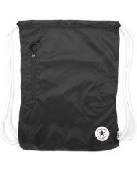 Converse   Black Cinch Bag   Lyst