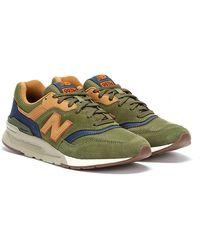 New Balance 997h Dark Sneakers - Green