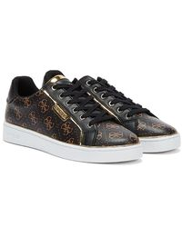 Guess Banq Womens Brown / Black Sneakers
