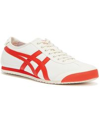 Onitsuka Tiger Mexico 66 / Fiery Red Trainers - Multicolour