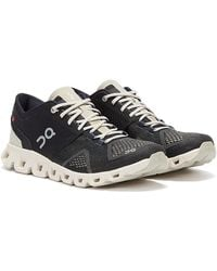 On Running Cloud X / Pearl Trainers - Black