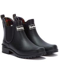 Barbour Wilton Chelsea Boots - Black