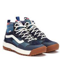 Vans Ultrarange Exo Hi Mte Mens Navy / Navy Sneakers - Blue