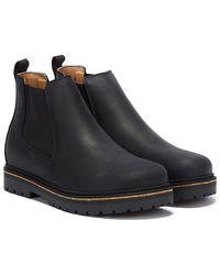 Birkenstock Stalon Nubuck Black Boots