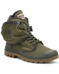 Palladium Pampa Solid Ranger Tp Army Green Boots