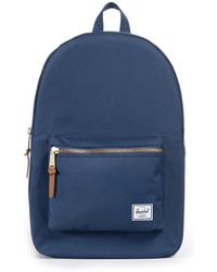 Herschel Supply Co. Co. Navy Settlement Backpack Women's Backpack In Blue