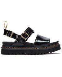 Dr. Martens Dr. Martens Voss Oxford Vegan Sandals - Black