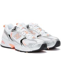 New Balance 530 / Pink Sneakers - White