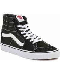 Vans Sk8 Hi Black / White Sneakers