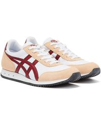 Onitsuka Tiger New York Weiss / Rosa Sneakers - Weiß