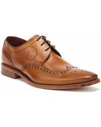Loake Kruger Mens Tan Brogue Shoes