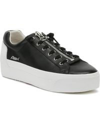Ash Womens Black Buzz Platform Sneakers