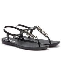 Ipanema Class Pebble Sandales Noires Pour