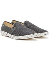 Rivieras Classic 20 Mens Dark Gray Shoes