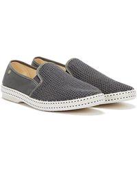Rivieras Classic 20 Dunkelgraue Schuhe