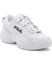 Fila Provenance White Leather Sneakers