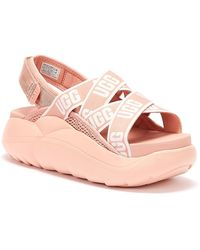 UGG UGG La Cloud Womens Pink Sandals