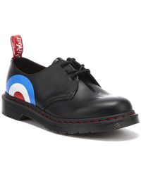 Dr. Martens - Dr. Martens 1461 The Who Smooth Black Shoes - Lyst