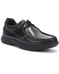 Kickers Reasan Lace Chaussures en cuir noir Pour