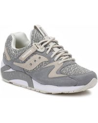 Saucony Grid 9000 Knit - Gray