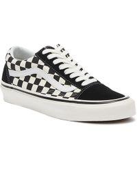Vans Anaheim Factory Old Skool 36 Dx Black Checkerboard Trainers