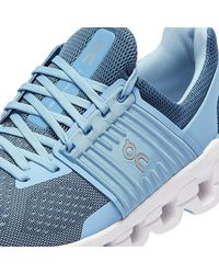 On Running Cloudswift Lake / Sky Trainers - Blue