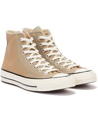 Converse Chuck 70 Hi Nomad Khaki Train Sneakers - Natur
